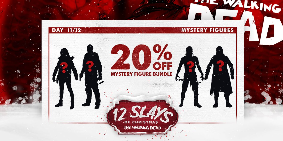 Day 11 of our holiday deals features an enticing #WalkingDead figure mystery bundle! Do it up: bit.ly/MysteryBundleT…
