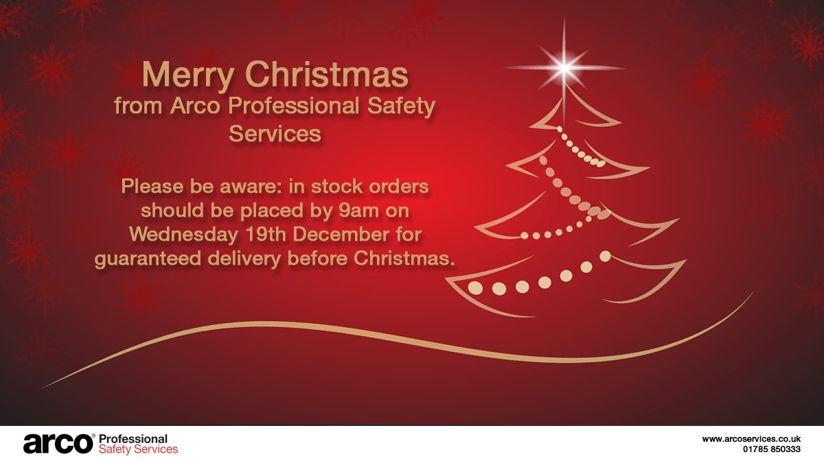 Remember to order your equipment before Wednesday 19th December for  guaranteed Xmas delivery! (Important  this applied to in-stock items only)  More info  ... 58e642fb6
