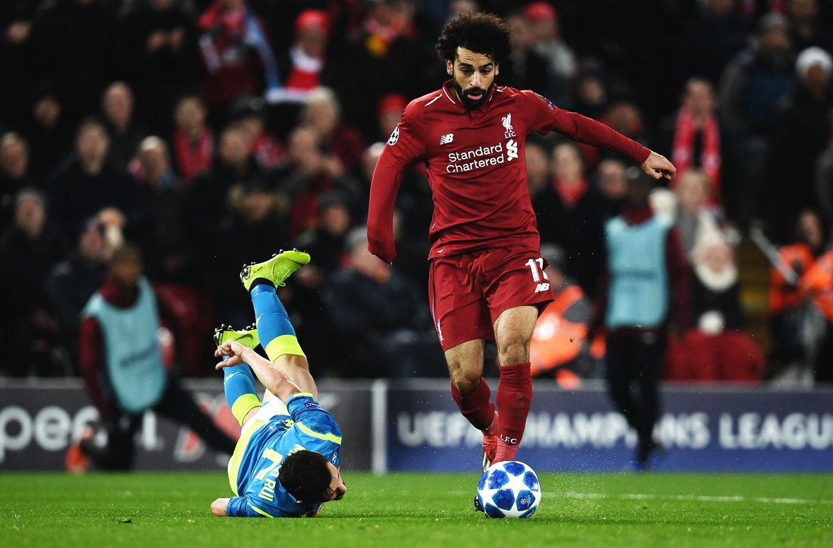 Mo Salah has the most goals (10), assists (4) and chances created (37) for Liverpool in the Premier League this season. <br>http://pic.twitter.com/HLAgvvSadz