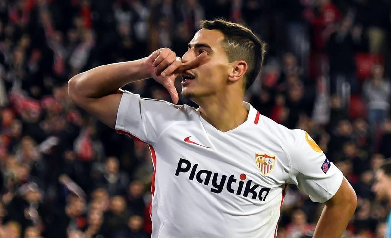 FINAL Sevilla FC 3-0 Krasnodar ¡Doblete de Ben Yedder para sellar la victoria del @SevillaFC, que termina como LÍDER del Grupo J de la #UEL! ❤️🔝