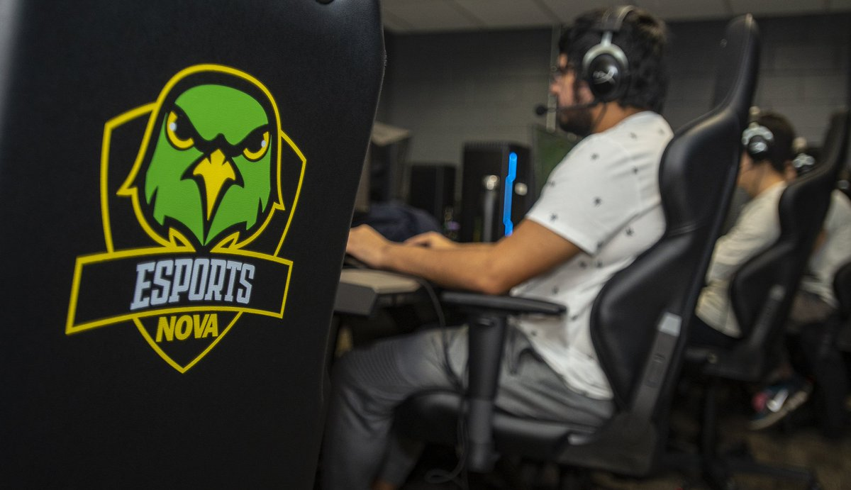 #NOVANighthawks - NOVA has a new varsity collegiate esports program. We have built a new high-end #eSports arena on the Annandale Campus for the athletes to practice and compete in. Tryouts for our varsity program are December 19th, sign up now! - ow.ly/4Vg930mYL2a