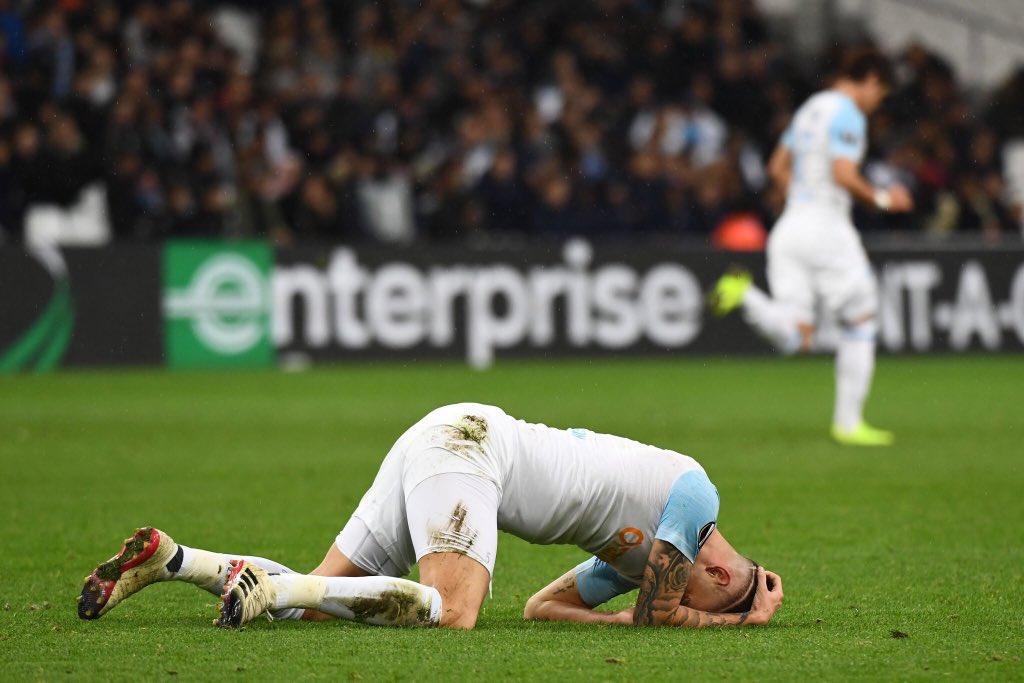 Avec 1 point en 6 journées, l'OM a réalisé la pire phase de groupe d'un club français dans l'histoire de l'Europa League ! ❌