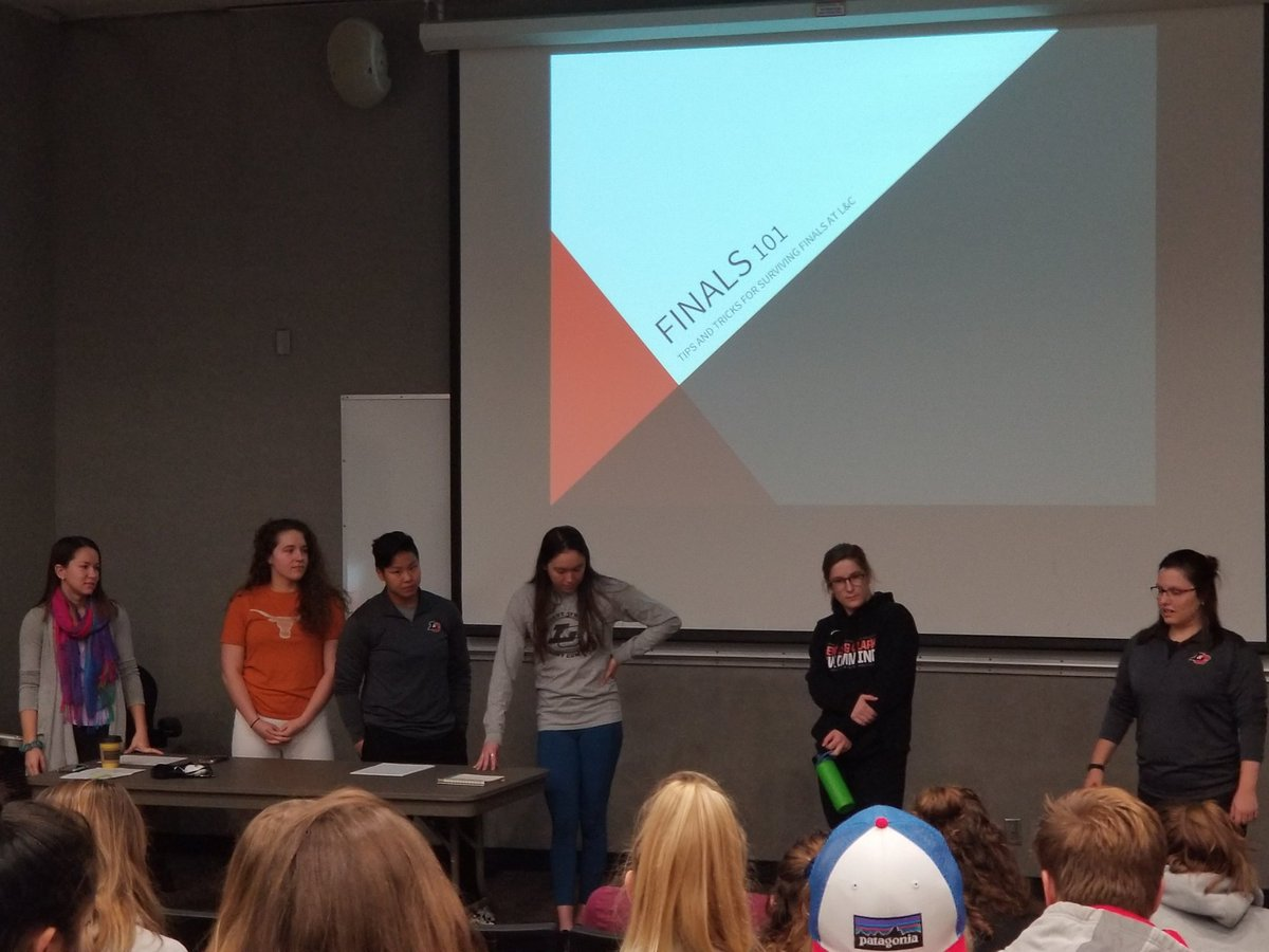 Finals 101 by some of our @LCPioneers senior student athletes! #saac #rollpios #treatyourfinalslikeagame