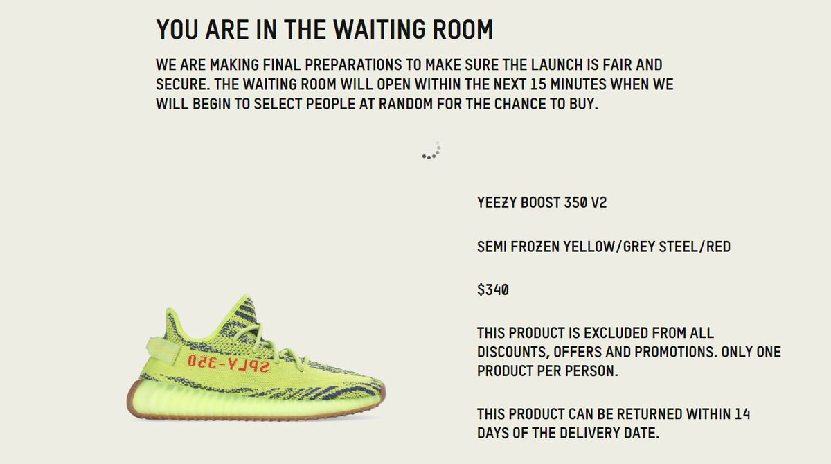 Ad  QUEUE LIVE via adidas AU Yeezy Boost 350 V2 Frozen Yellow    http fbad14e76