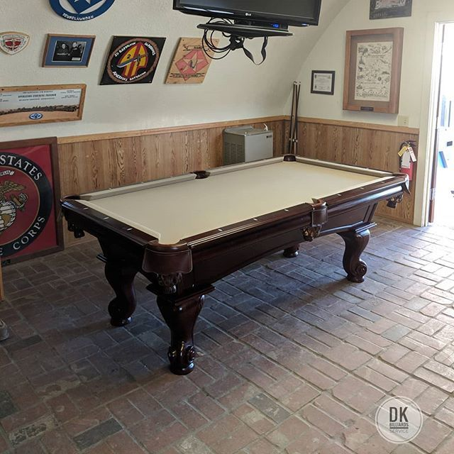 Dk Billiards On Twitter Finished Installing This 7 Foot