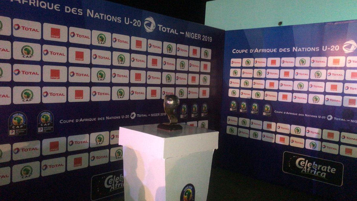 The draw for the #TotalAFCONU20 is underway in Niamey. Here are some 📷📷 #TotalAFCONU20