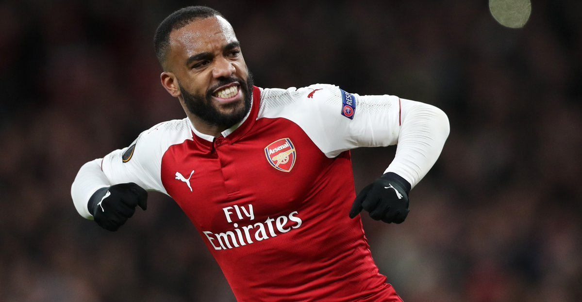 Goal or assist this season: Pierre-Emerick Aubameyang every 95 minutes Danny Welbeck every 98 minutes Alexandre Lacazette every 109 minutes Firepower. #AFC