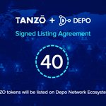 Image for the Tweet beginning: #TANZŌ (#TZO) to be listed