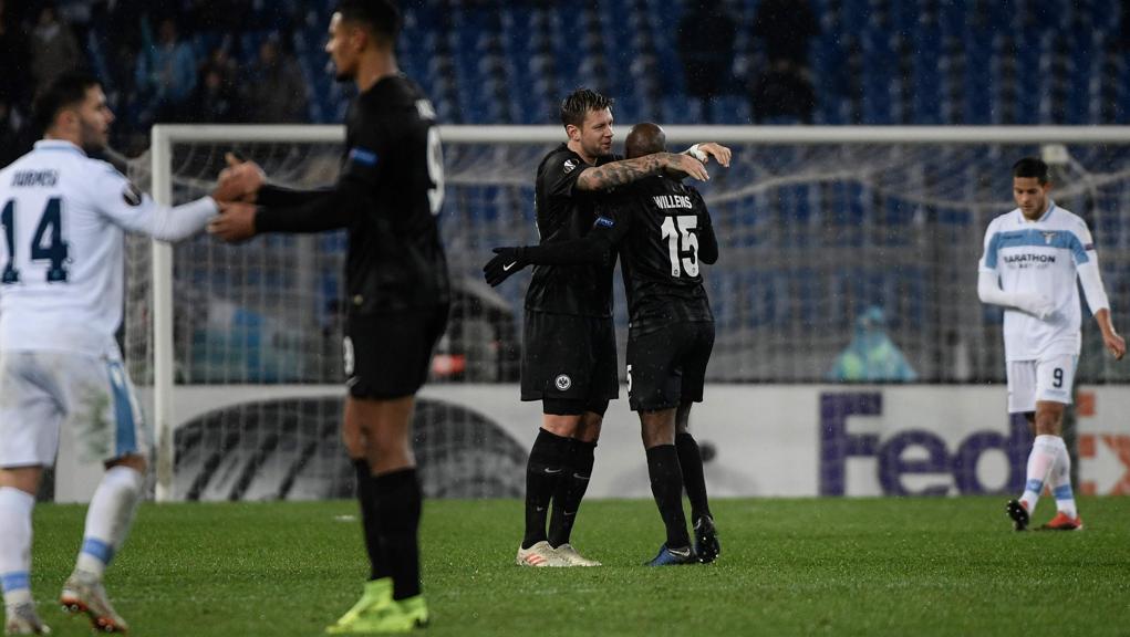 Europa League: la Lazio perde in casa con l'Eintracht, ma si qualifica ai sedicesimi https://t.co/OAnNd368JD