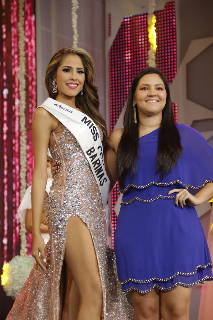 La ganadora de la banda de Miss #Confianza es @MissVBarinas ¿tú también votaste por ella? #MissVenezuela2018