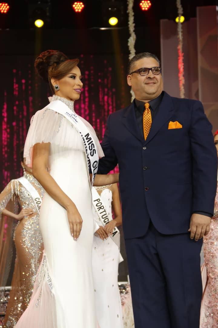 La ganadora de la banda de Miss #Glamour es @MissVAmazonas ¡Felicidades Oxlaniela! #MissVenezuela2018