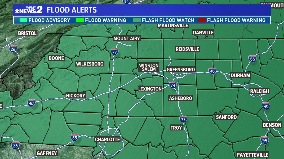 Flash Flood Watch for tomorrow and Saturday. I expect flooding due to our rapid snow melt and heavy rain. <br>http://pic.twitter.com/3SwJFHRf2O