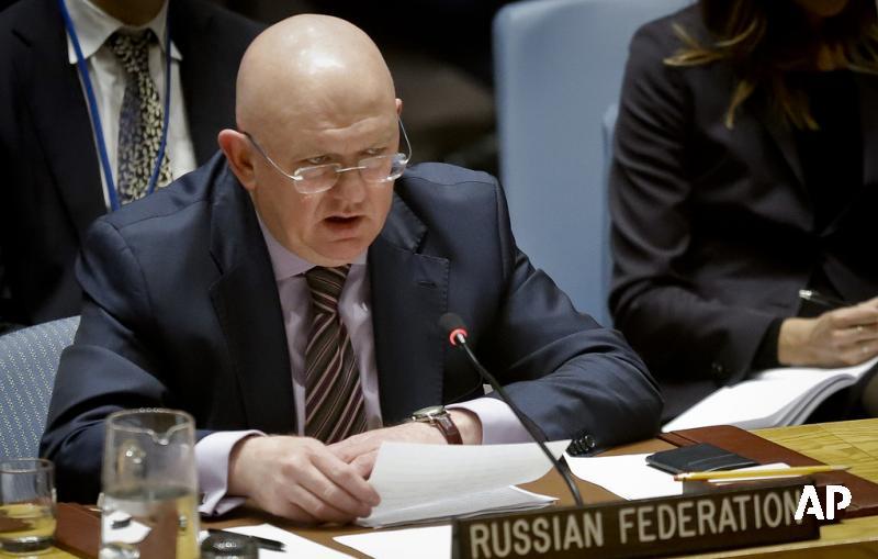 Небензя назвал пропагандистским трюком подход ОЗХО к расследованию химатак в Сирии https://t.co/kjw9iUpPyX