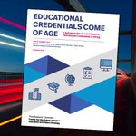 Image for the Tweet beginning: Our latest research- Educational Credentials