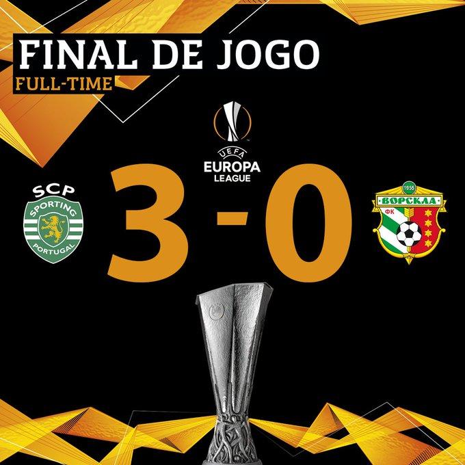 DuVAyBcXQAY_ipE?format=jpg&name=small Liga Europa. Imparável, Sporting de Keizer despede-se da fase de grupos com vitória gorda