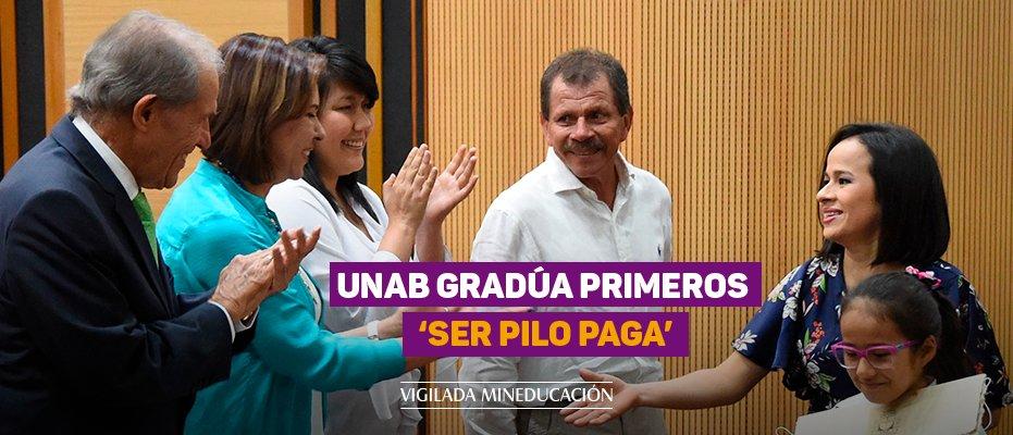 UNAB gradúa primeros 'Ser Pilo Paga'