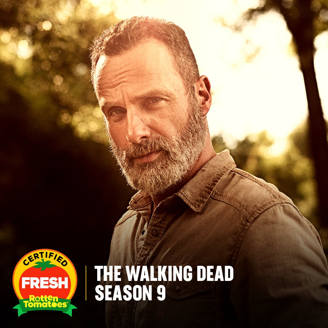 Certified Dead! #TheWalkingDead Season 9 and #FearTWD Season 4 are both officially #CertifiedFresh! rottentomatoes.com/franchise/the_…