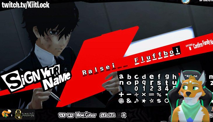 b46a6667e68c ... going to take down KAMOSHIDA in Persona 5 and continue stealing hearts.  Will yours be next  https   www.twitch.tv KiitLock  pic.twitter.com z2wTrFDtw8