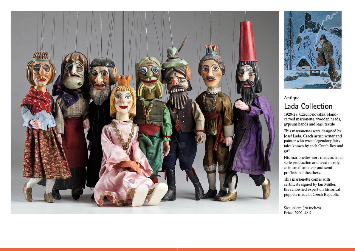 PDF catalogue of collectible marionettes available for sale - https://t.co/EpSyRCUrPa https://t.co/nCOA8NbWIb