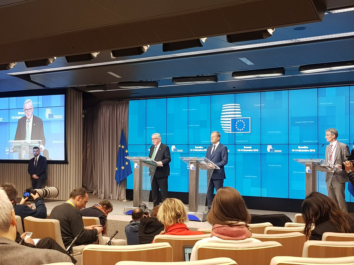 This is not going well. The EU has deleted some of the most helpful sections of its draft conclusions after listening to Theresa May speak. And Juncker is now telling us: We dont want the UK to think there can be any form of renegotiation whatsoever.