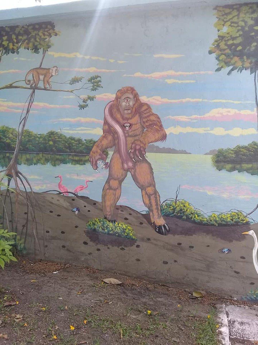 Desenho de criatura folclórica da Amazônia com pênis gigante causa polêmica no interior do Pará https://t.co/uoMuZ2yjWA #G1