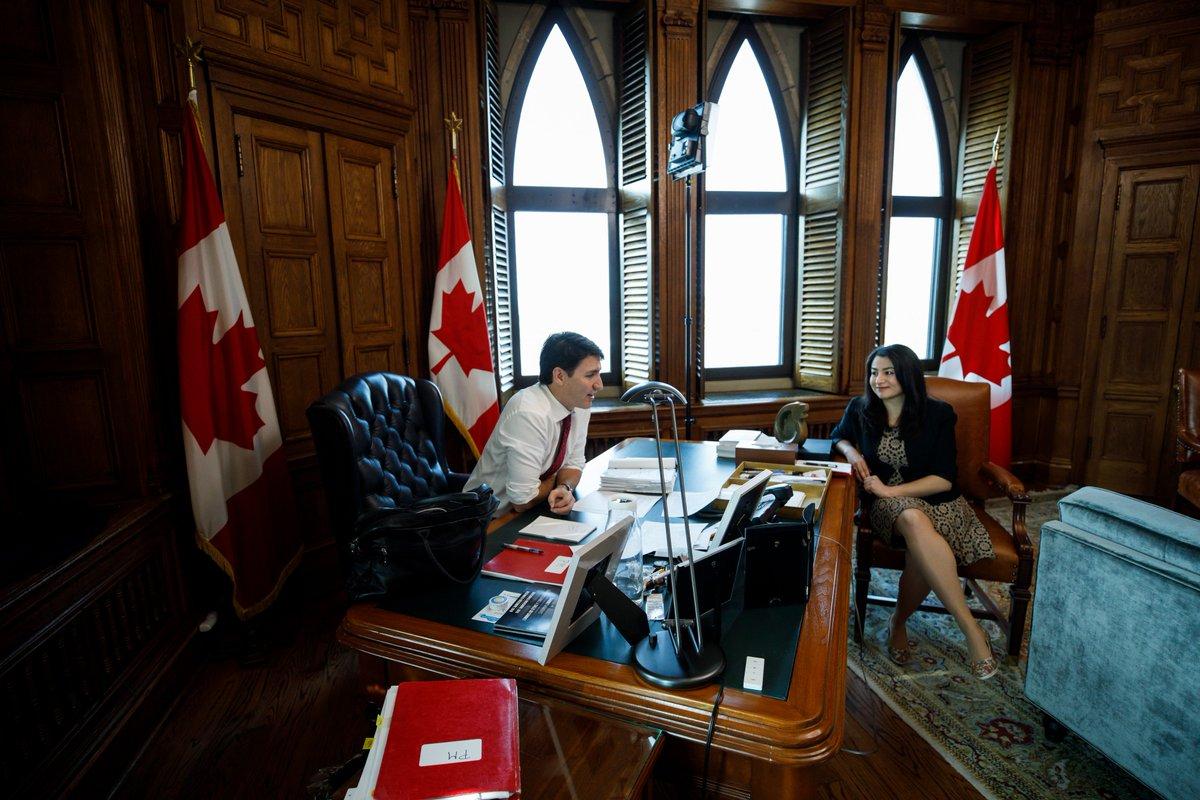 Algonquin Highlands et Spanish (Ont.) ont élu un conseil municipal composé uniquement de femmes le mois dernier. C'est seulement la 3e fois que cela arrive en Ontario. Aujourd'hui @MaryamMonsef,  et moi avons félicité les conseillères et parlé de leur vision pour leur communauté.