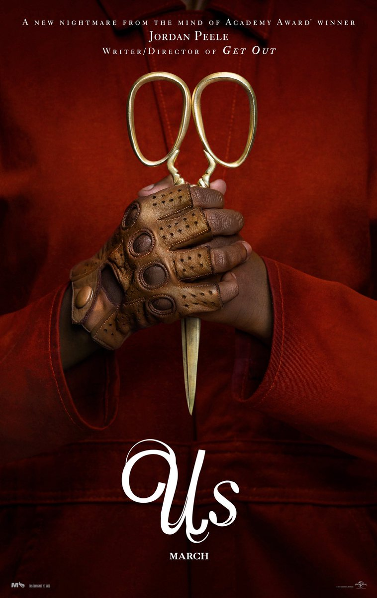 Beyond your wildest nightmares! In theaters March 15. #UsMovie #LayYourEdgesTight @JordanPeele @Winston_Duke