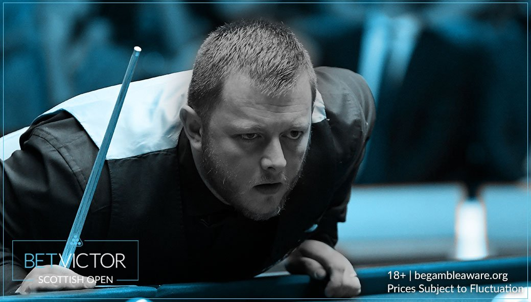🔥 Mark Allen, less than a week after making the UK Championship final is in the last 8 here at the #ScottishOpen.  🏆 He's now 7/2 to win it.  📲 https://t.co/ROv138YtKz