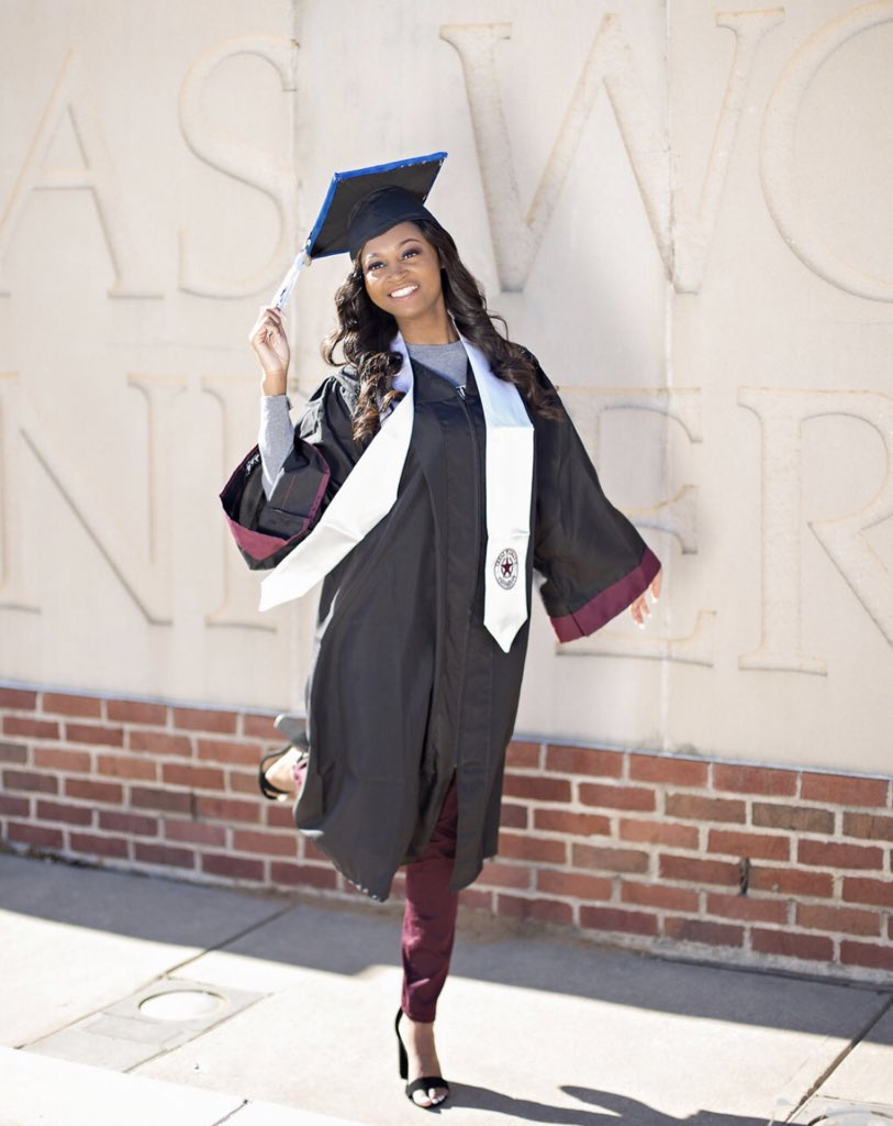 Magna Cum Laude, accepted into one of the best M.Ed programs in the  country, and a FINER woman??? Don't sleep💪🏾💪🏾💪🏾…  https://t.co/WlL0R4RPH0