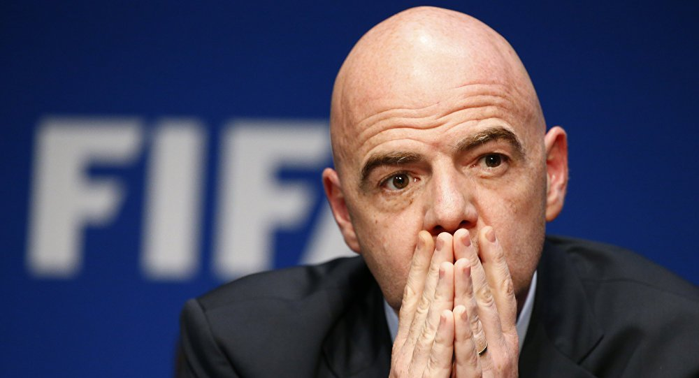 .@FIFA President sasys option exists for hosting some #WorldCup games outside #Qatar https://t.co/w5jJYG9wwg