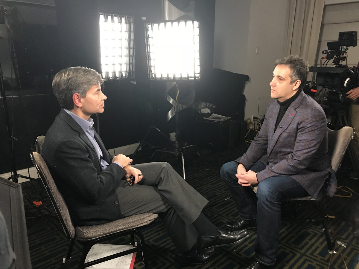 Just sat down with Michael Cohen for his first response to sentencing and President Trump. Watch tomorrow on @GMA