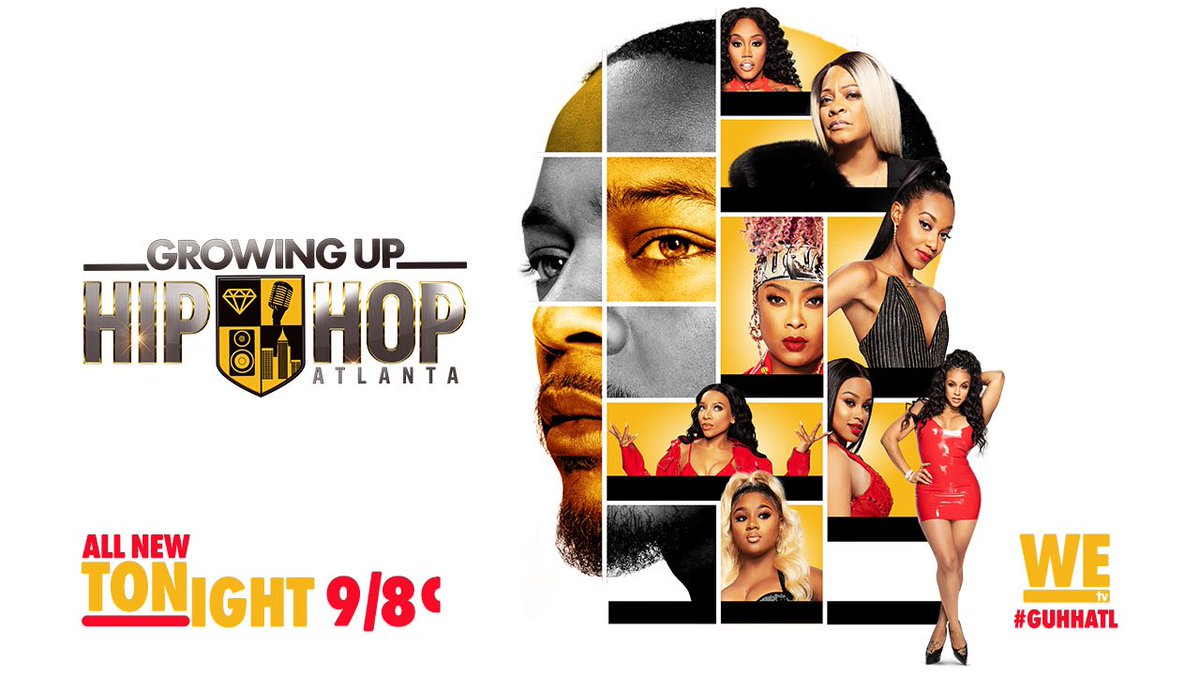 New episode of #GUHHATL TONIGHT! Only one more episode left after tonight. TUNE IN! #mustseetv 9/8c on @WEtv