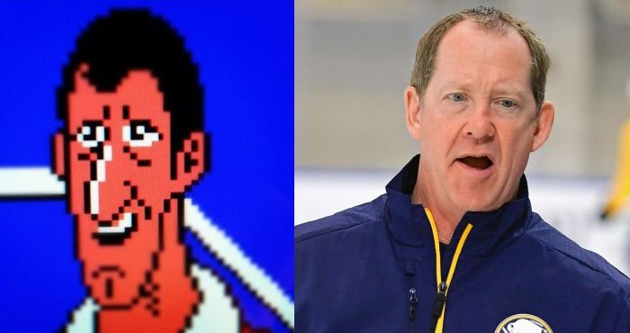 Replying to @ScottWojcinski: When you give up your 8-bit boxing career to coach the @BuffaloSabres