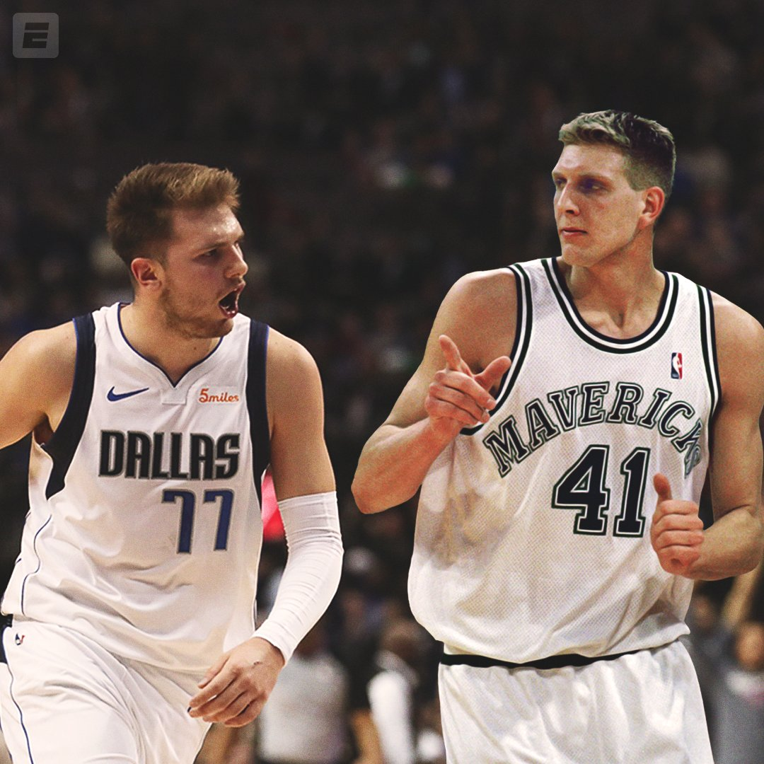20 years ago, the @dallasmavs made a franchise-altering trade to acquire future superstar @swish41.   Have they done the same with @luka7doncic ?