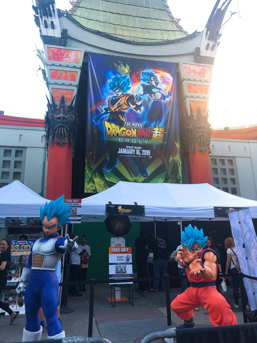 Tonight, power levels will rise. It's Premiere Night for #DragonBallSuperBroly in Hollywood!