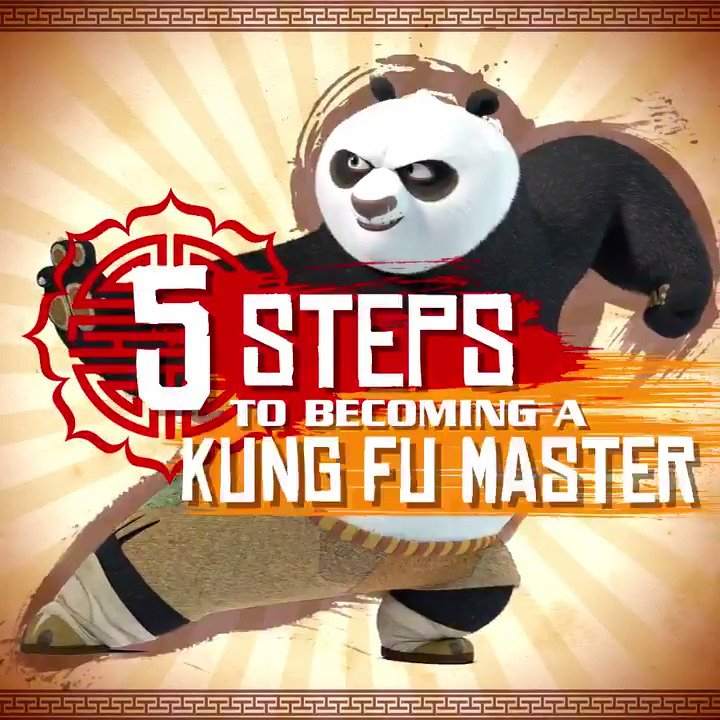 See what it takes to become a Kung Fu Master. #KungFuPanda