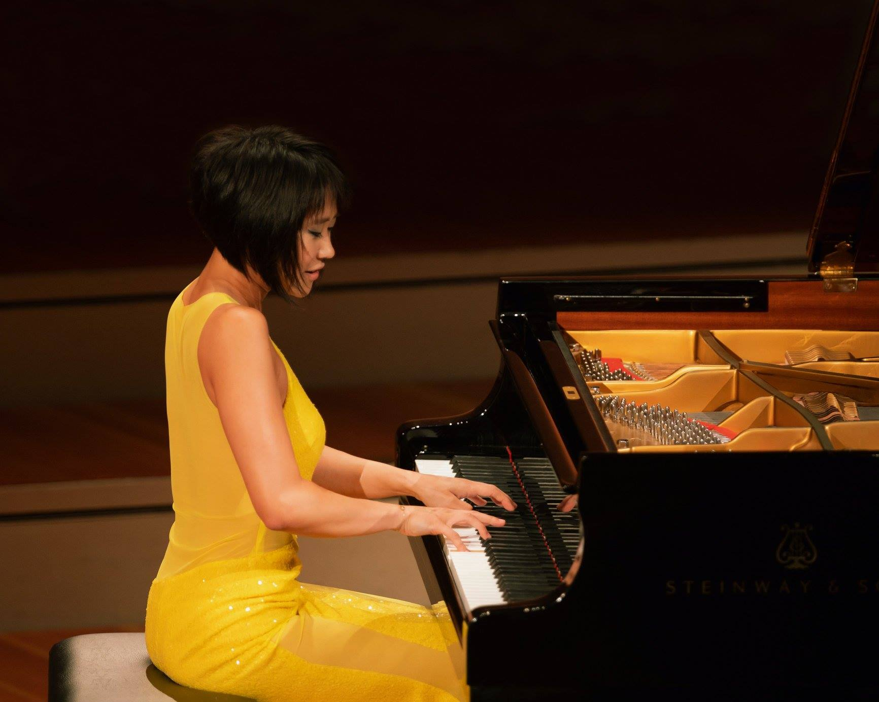 Reloaded twaddle – RT @DGclassics: Pianist @YujaWang not only seizes Rachmaninov's Prelude in G min...