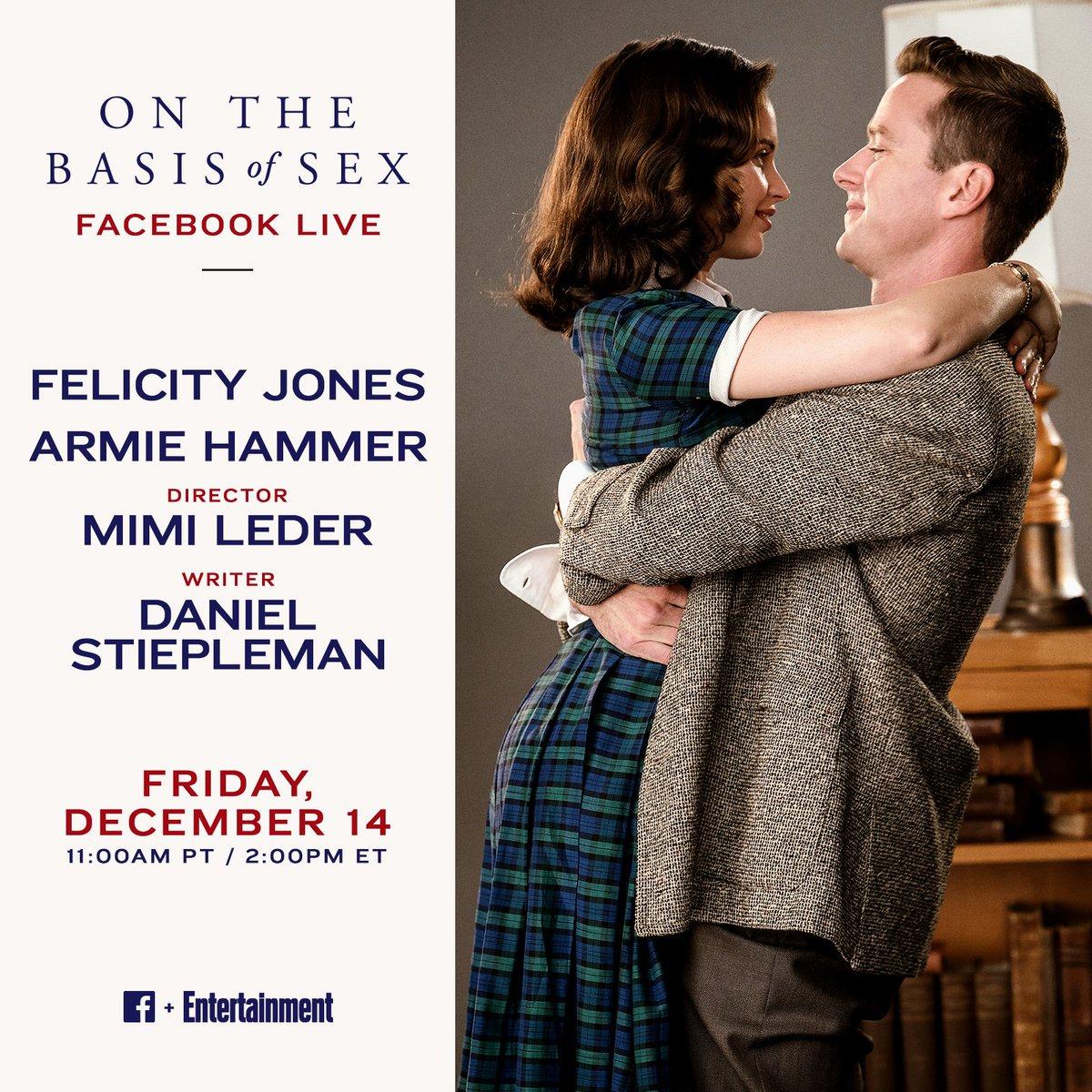 felicity jones facebook