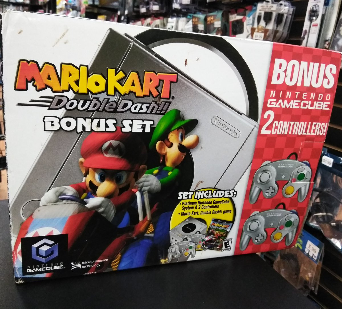 Level Up On Twitter We Just Got In This Awesome Mario Kart Double Dash Gamecube Bundle Stop By The Store To Check It Out