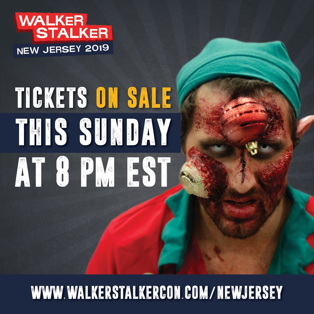 NEW JERSEY! Tickets for #WSCNJ 2019 will go on sale THIS SUNDAY, December 16 at 8PM EST. Save the date!
