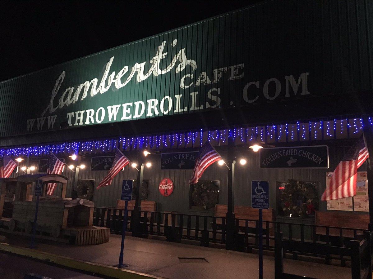 Lambert S Cafe Home Of The Throwed Rolls Sikeston Lcsikeston