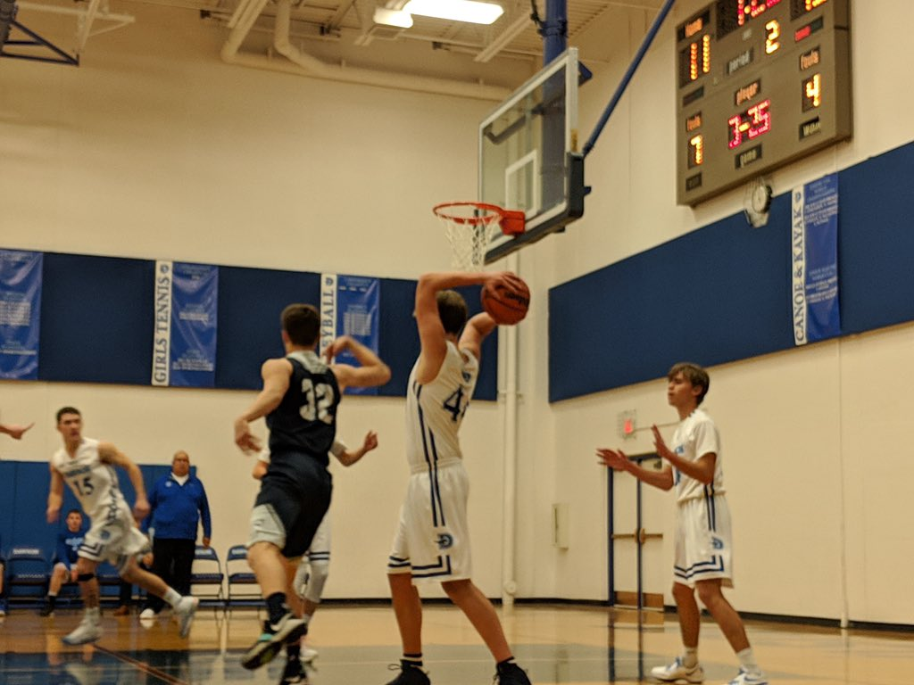 My 6'8 son who has never played high school basketball is the new starting varsity center as a senior 👏😂👏