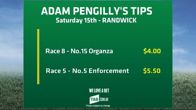Adam has two tips set up for tomorrow at Randwick @app85 #bigsportsbrekky Photo