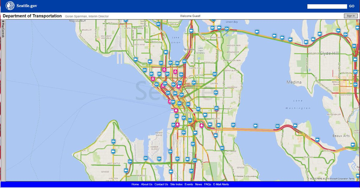King 5 Traffic Map.King County Metro On Twitter We Re Seeing More Red Than