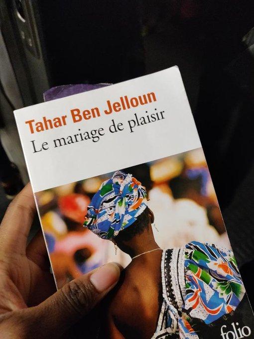 Une agréable découverte, Le Mariage de plaisir de Tahar Ben Jelloun #VendrediLecture Photo