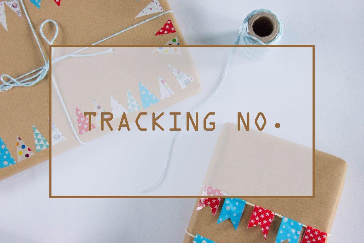 📦TRACKING NO.📦 📮รอบปิด 07/12 และ 11/12 🚚#illusionxtracking 🔗goo.gl/edWuGk