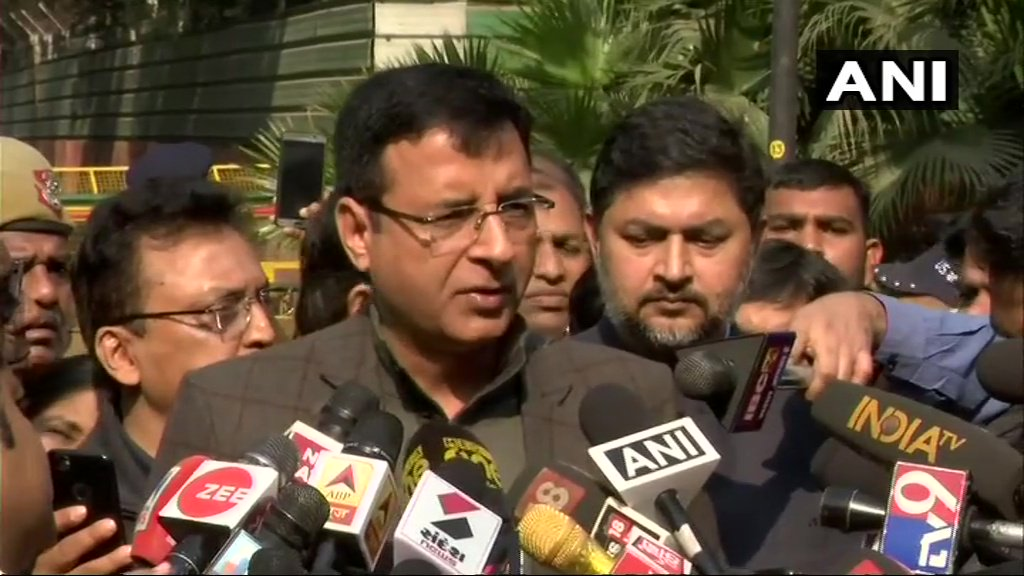 Randeep Surjewala, Congress on #RafaleVerdict: The verdict of the Supreme Court today is a validation of what the Congress party stated months again, that SC is not the forum to decide the such sensitive defence contract.