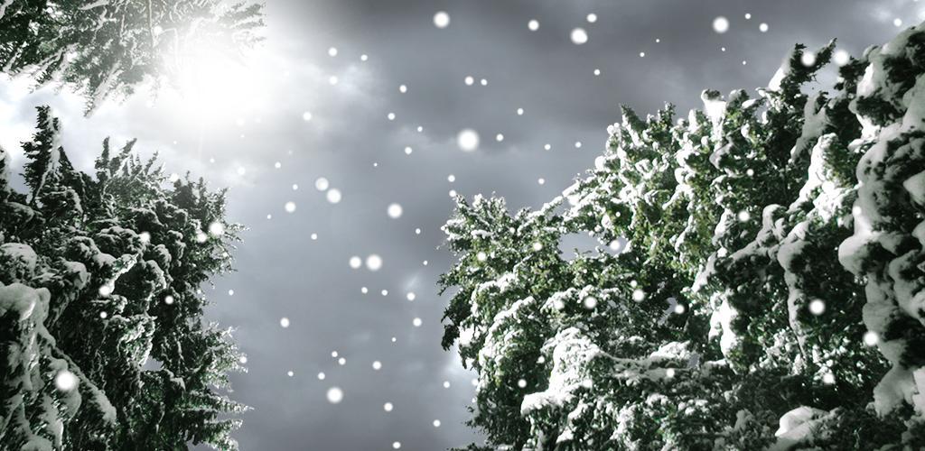 Открытки, анимация снега на фото приложение
