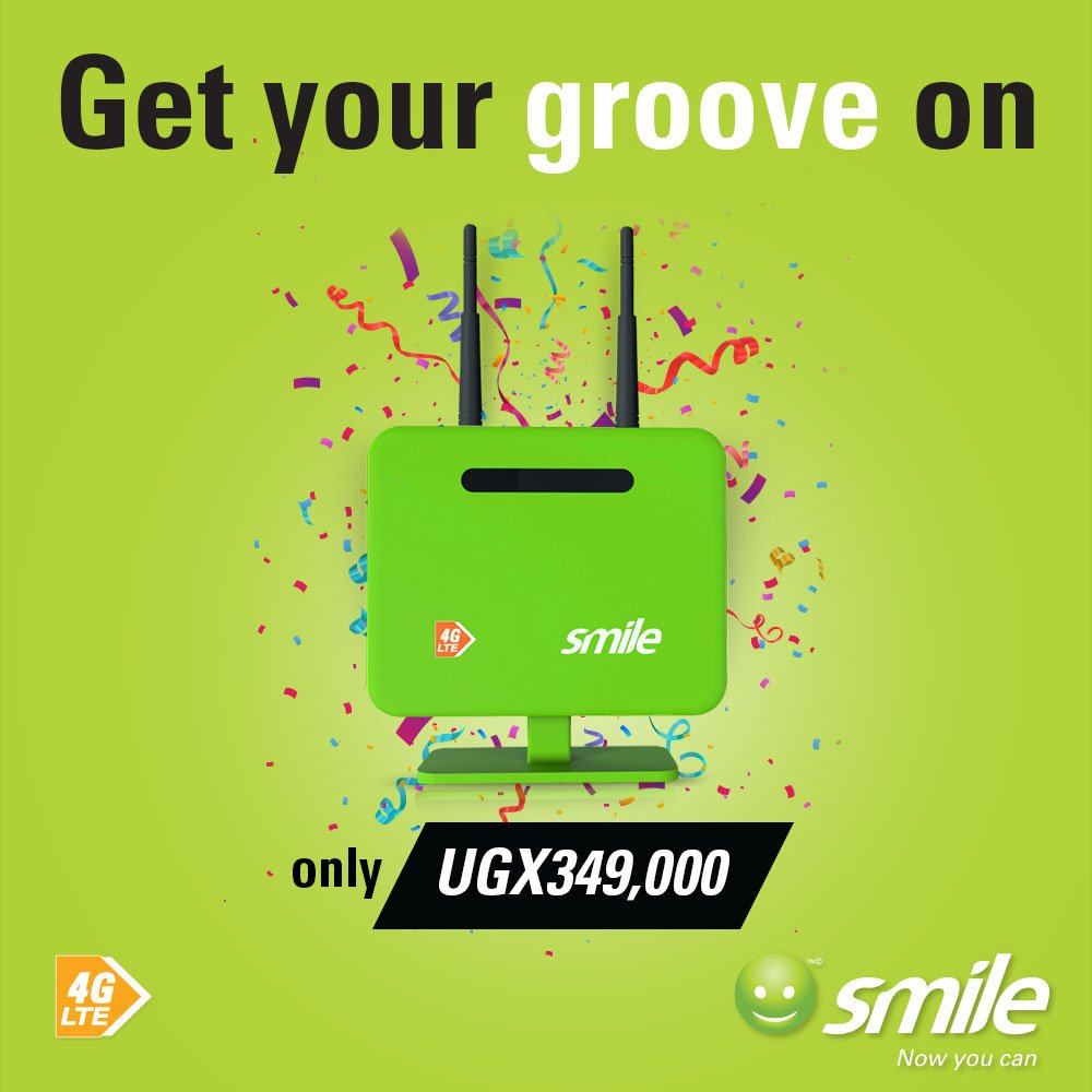 eee21a9d3 ... at your home this Festive with FREE YouTube every day + 100% BONUS for  only UGX349,000. It's time to get that groove:  https://smile.co.ug/join-smile/ ...