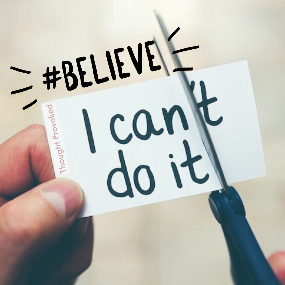 There's no such thing as can't - believe in yourself you're amazing    #FridayMotivation #JoyTrain #IQRTG #FridayThoughts #Motivation #Friyay #Believe #believeinyourself<br>http://pic.twitter.com/vQJm47R2gj